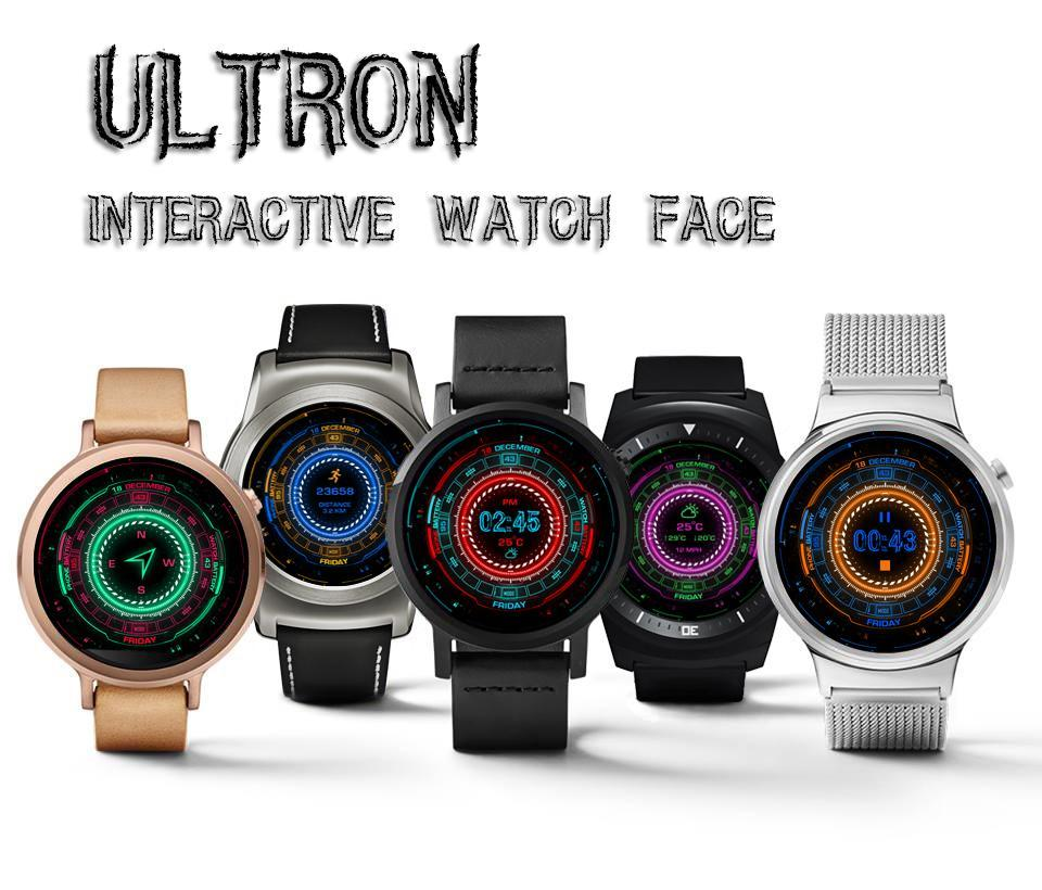 Ultron Interactive Watch Face for Android - APK Download