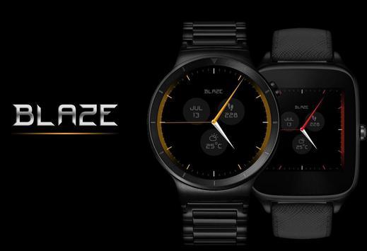 Watch Face - Blaze Interactive poster