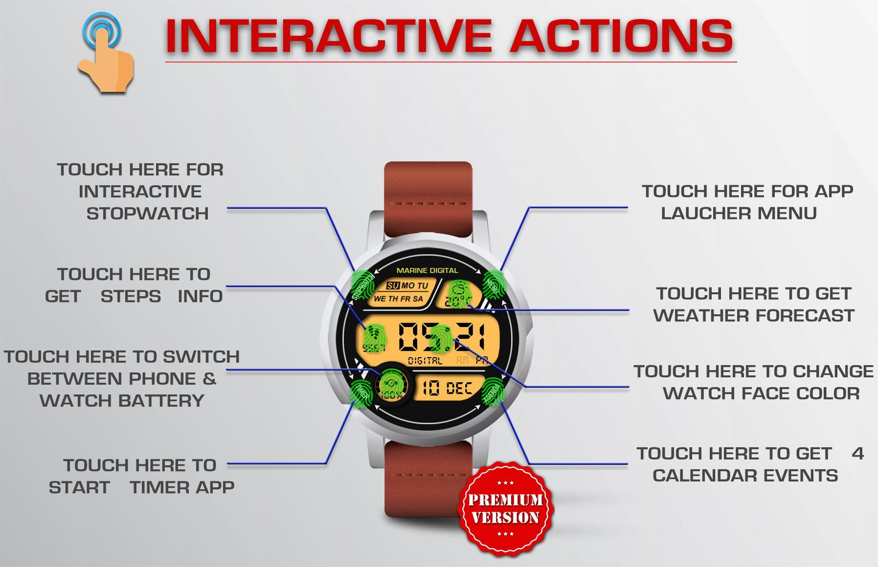 Watch Face - Marine Digital for Android - APK Download