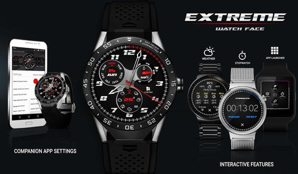 Watch Face - Extreme Interactive poster