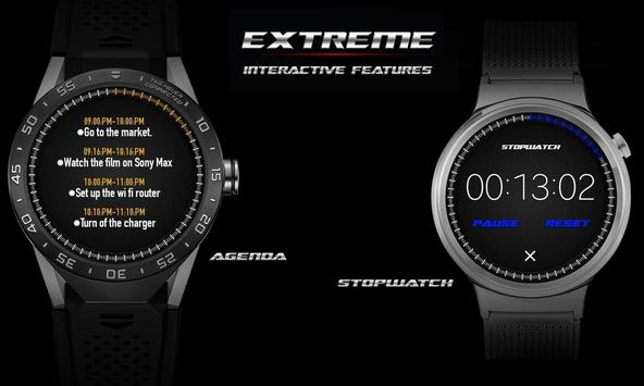 Watch Face - Extreme Interactive screenshot 11