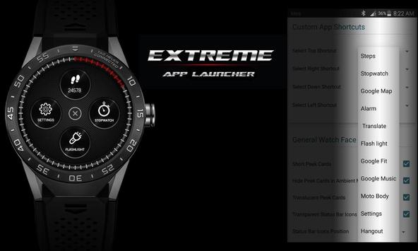 Watch Face - Extreme Interactive screenshot 5