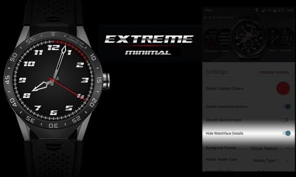 Watch Face - Extreme Interactive screenshot 6