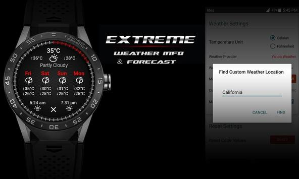 Watch Face - Extreme Interactive screenshot 7