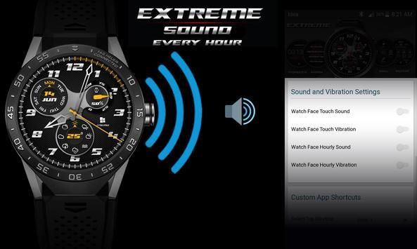 Watch Face - Extreme Interactive screenshot 8