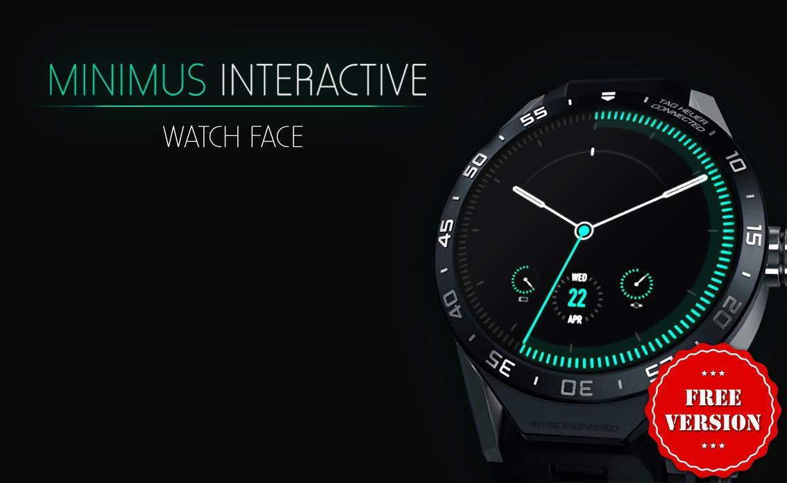 Watch Face - Minimus Interactive for Android - APK Download
