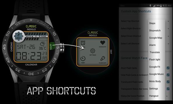 Watch Face - Retro Interactive screenshot 5
