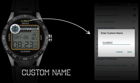 Watch Face - Retro Interactive screenshot 8