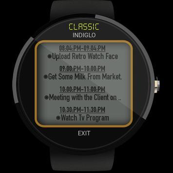 Watch Face - Retro Interactive screenshot 30