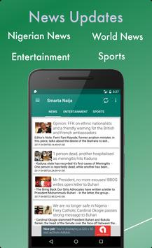 Smarta Naija Tv, Radio & News screenshot 1