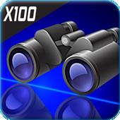 High Zoom Binoculars HD Camera(Photos & Video) icon