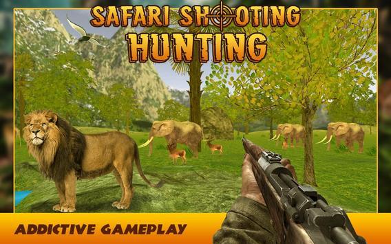 Safari Jungle Hunting Shooting Park Simulation apk screenshot