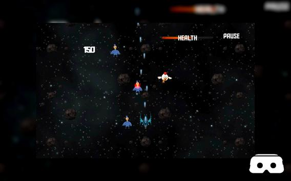 VR Roller Chicken Shooter Space Mission screenshot 14