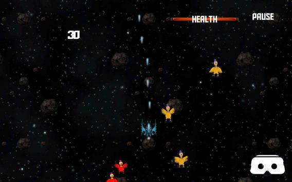 VR Roller Chicken Shooter Space Mission screenshot 11