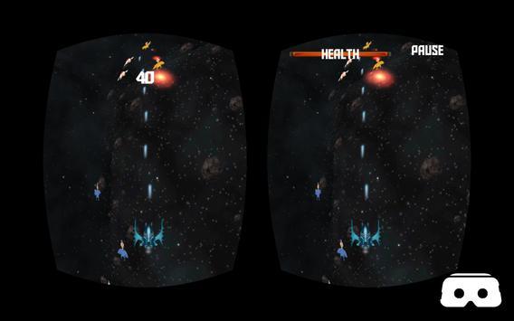 VR Roller Chicken Shooter Space Mission screenshot 1
