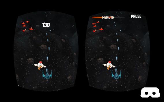 VR Roller Chicken Shooter Space Mission screenshot 6