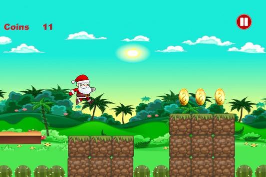 Happy Santa: Run Adventure 2017 screenshot 4