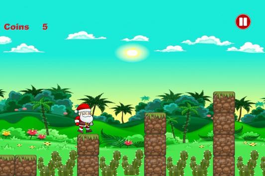 Happy Santa: Run Adventure 2017 screenshot 1