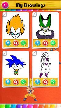 drawing book for dragon saiyan screenshot 6