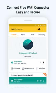 WiFi Key Connector: Free Password and WiFi Map poster
