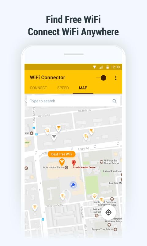 WiFi Key Connector: Free Password and WiFi Map for Android