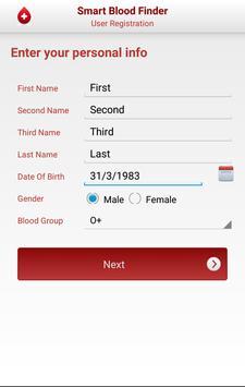 Smart Blood Donation screenshot 1