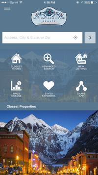Telluride Real Estate Search poster