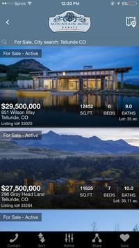 Telluride Real Estate Search screenshot 1