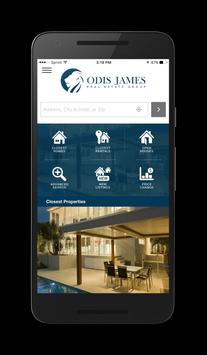 Homes by Odis James poster
