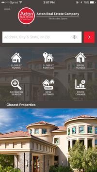 Acton Real Estate poster