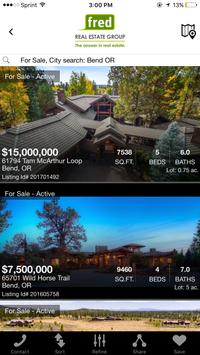Fred Real Estate Home Search screenshot 1