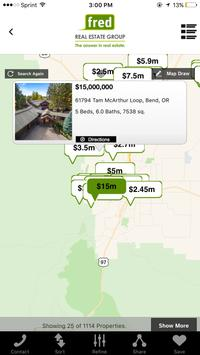 Fred Real Estate Home Search screenshot 2