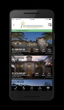 Premium Properties Florida Home Search screenshot 1