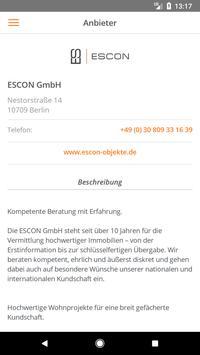 ESCON Immobilien screenshot 1