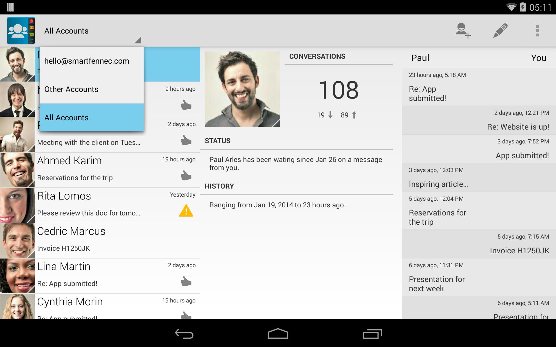 Contacts Ultra for Android - APK Download