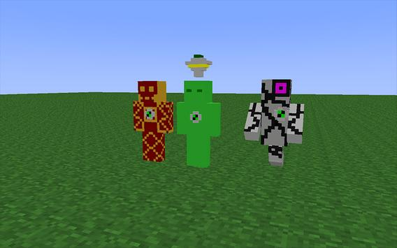 Skin Ben MCPE For Android APK Download - Skins para minecraft pe ben 10