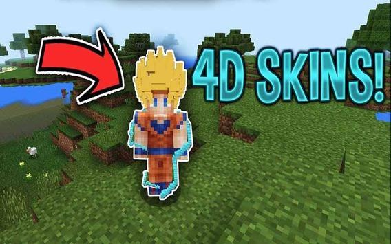 D Skin For Android APK Download - Skins para minecraft pe en 4d