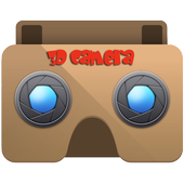 3D Camera for VR Cardboard icon