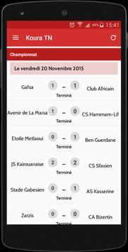 Koura Tunisie screenshot 2
