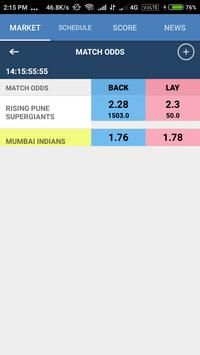 CricketBetFair apk screenshot