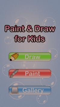 Paint and Draw for Kids poster