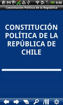 Chile Constitution poster