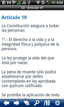 Chile Constitution apk screenshot