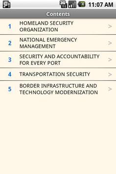 USC T.6 Domestic Security screenshot 1