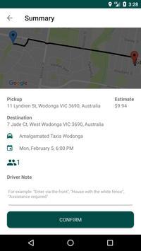 Wodonga Taxis screenshot 3
