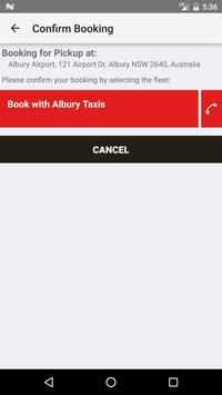 Albury Taxis screenshot 2