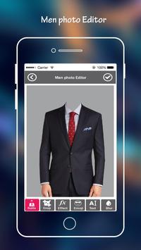 Men Suit Photo Editor apk screenshot