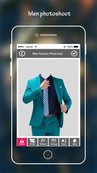 Men Suit Photo Editor poster
