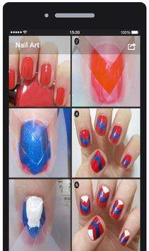 Nail Art Tutorial Step By Step poster