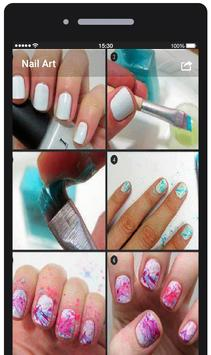 Nail Art Tutorial Step By Step apk screenshot